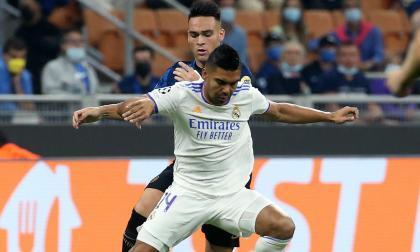 Rodrygo le da el triunfo al Madrid contra el Inter en la Champions