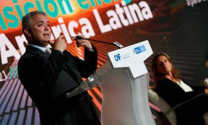 """""""Soy escéptico respecto a las negociaciones sobre Venezuela"""": Duque"""
