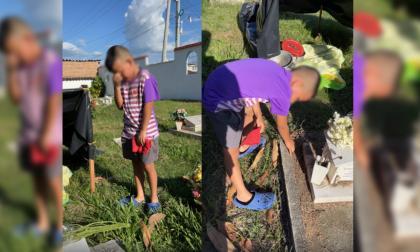 La realidad detrás de la historia del niño que vive en un cementerio