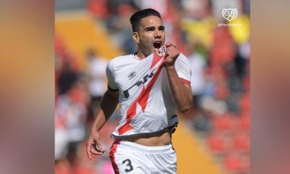 Falcao debuta con golazo en el Rayo Vallecano