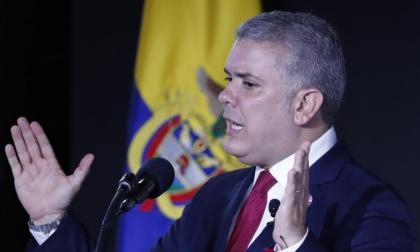 """Duque vaticina más migración si no se pone fin a la """"dictadura"""" venezolana"""