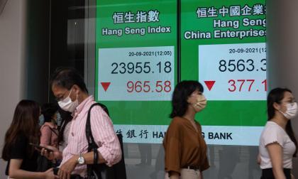 La crisis de la inmobiliaria china Evergrande castiga a las bolsas europeas