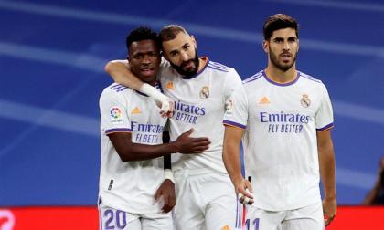Real Madrid goleó al Mallorca en la Liga de España