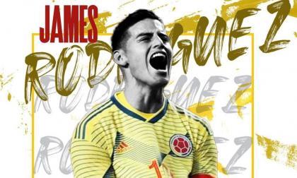 Ya es oficial: James Rodríguez es nuevo jugador del Al Rayyan
