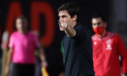 """""""A Falcao le vamos a exigir también otras cosas aparte del gol"""": Iraola"""