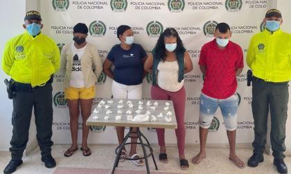 Los capturan por venta de drogas en Malambo