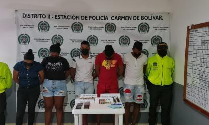 Desarticulan a 'Los Rafitas', banda que vendía drogas en Bolívar