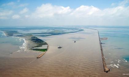 Portuarios, en alerta por alta sedimentación en el kilómetro 14