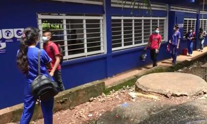 Ladrones dejan sin energía eléctrica a todo un colegio en San Antero, Córdoba