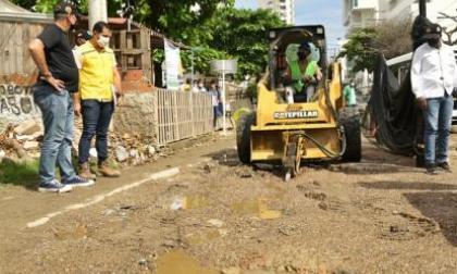 Obras del puente Benjamín Herrera en Cartagena no han sido terminadas