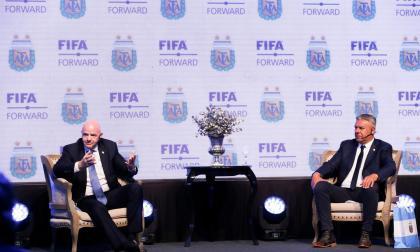 """""""Sería fantástico pensar en un Mundial en Sudamérica"""": presidente de la Fifa"""