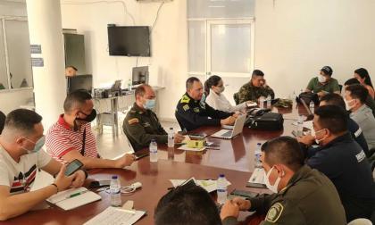 Autoridades refuerzan seguridad en Maicao con 100 policías y militares