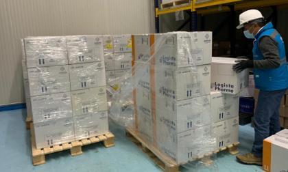 Colombia recibió 100.000 dosis de vacunas de AstraZeneca