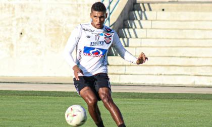 Gabriel Fuentes cree que Junior puede ganarle a Millonarios en Bogotá