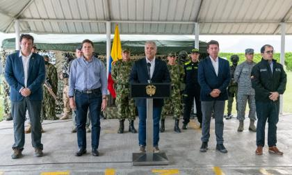 Captura de alias Otoniel: pronunciamiento del presidente Iván Duque