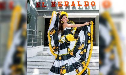 Carnaval de Barranquilla: Reina visitó periódico EL HERALDO y habló de la lectura del bando