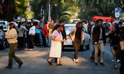 Sismo de 7,5 en México revivió el temor de cientos de personas
