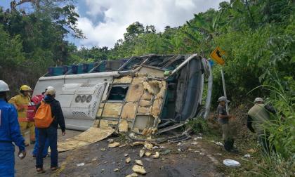 El accidente en el que resultaron heridos 22 estudiantes de Unicartagena