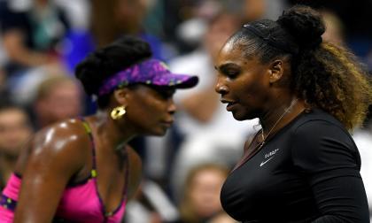 En imágenes   Los mejores momentos del duelo entre Serena y Venus Williams