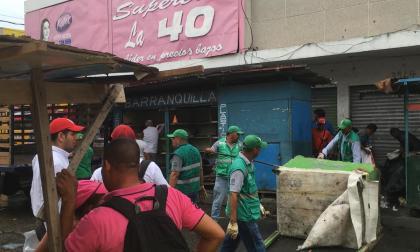 Vendedores del Centro son reubicados de zona de peatonalización