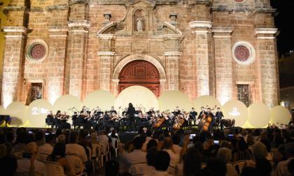 Cartageneros disfrutaron el primer concierto gratuito del Festival de Música