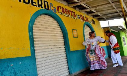 En imágenes   Gabriel Ramírez, el cumbiambero mayor que no pudo bailar en el Carnaval