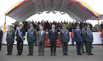Así transcurrió el desfile de las fuerzas militares en Bogotá