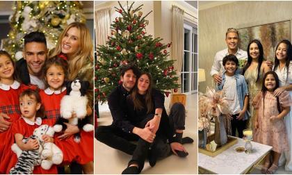 Así fue la Navidad de los famosos