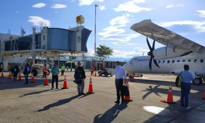 Primer vuelo piloto para reactivar transporte aéreo