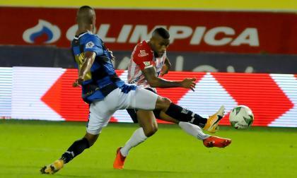 El álbum de la victoria de Junior 3-0 ante Chicó