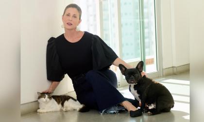 Rita y los momentos con sus mascotas