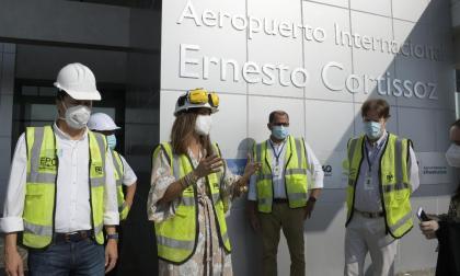 Minstransporte recorre instalaciones del Ernesto Cortissoz para su entrega