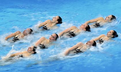 Los mejores momentos del Campeonato Acuático en Hungría