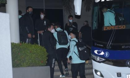 Las imágenes de la llegada de Messi y toda la selección Argentina a Barranquilla