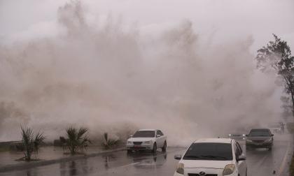 Así fue el paso de la tormenta tropical Elsa en Santo Domingo
