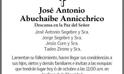 José Antonio Abuchaibe Annicchrico