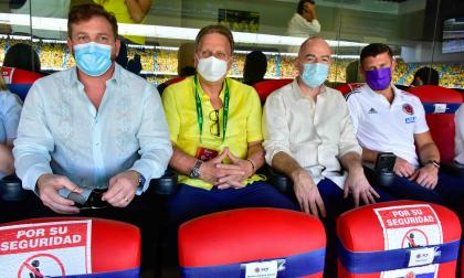 Celebración por partido Colombia vs. Ecuador