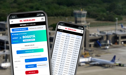 Siga aquí el estado de los vuelos en tiempo real desde y hacia el aeropuerto de Barranquilla