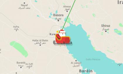 Mapa interactivo |Siga en vivo el recorrido de Papá Noel para la entrega de regalos por el mundo