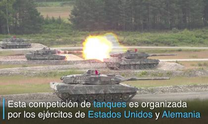 Como de película: una competencia de tanques en Alemania
