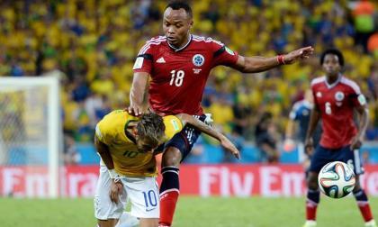 El día que Zuñiga sacó a Neymar del Mundial de Brasil-2014