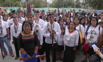 La estrategia de indígenas para frenar la explotación de su tierra en Ecuador