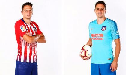 Así fue el primer entrenamiento de Santiago Arias con el Atlético de Madrid