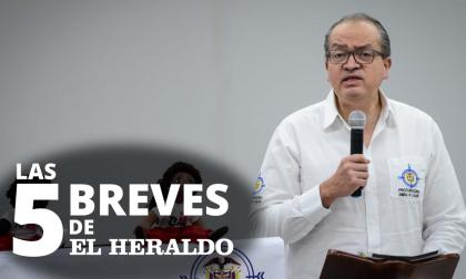 Las 5 breves de EH | Procurador anuncia indagación preliminar contra Carlos Prasca por presunto acoso sexual