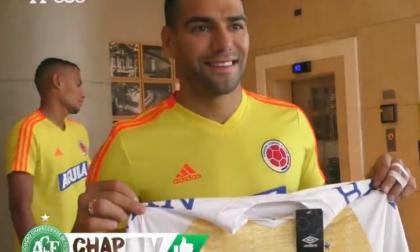 El regalo que le dio Chapecoense a la Selección Colombia previo al partido ante Chile