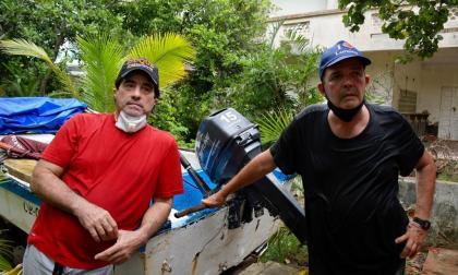 En video   Relato de pescadores que rescataron a mujer en el mar de Puerto