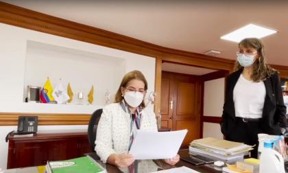 """""""Marchen, protesten en paz pero por favor cuídense"""": Procuradora Cabello"""