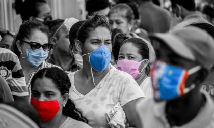 El rostro de la pandemia