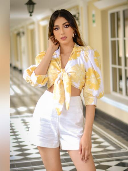 Xilena Laino, la modelo que sueña con ganar la corona de Miss Colombia