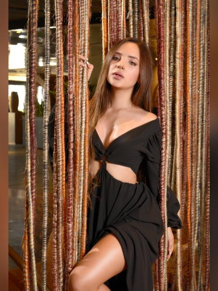 Anabel Ramírez, modelo y diseñadora paisa